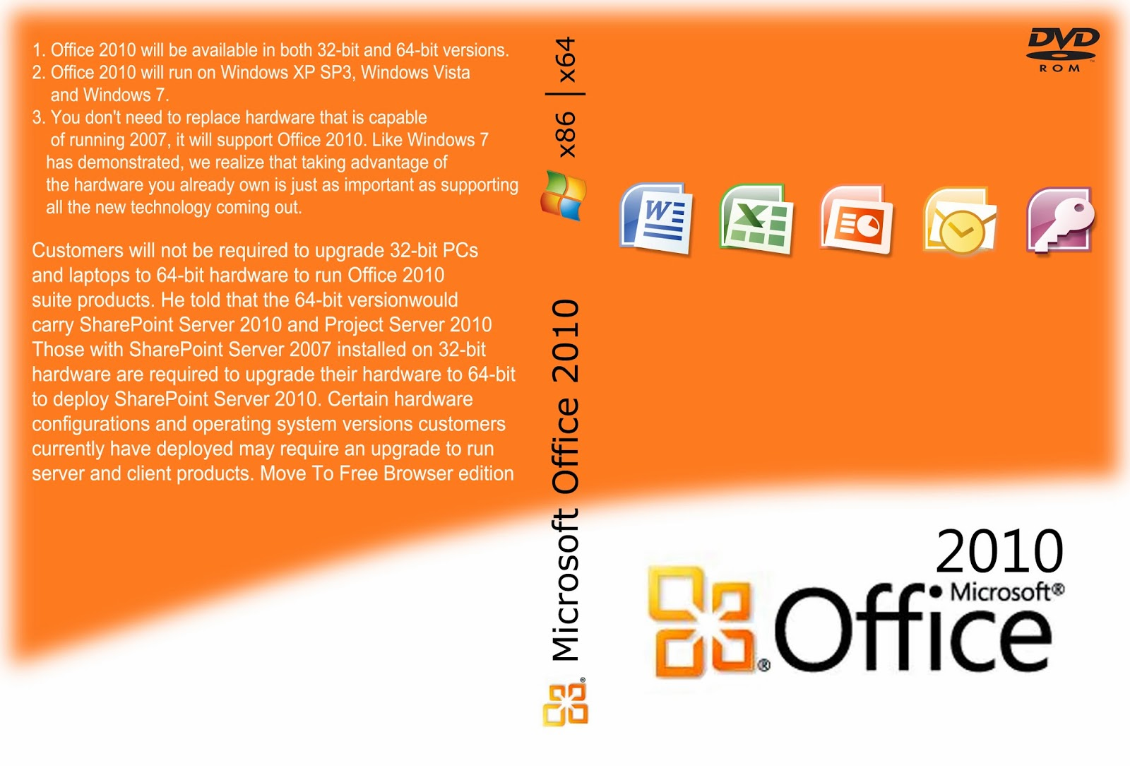Microsoft Office 2010 All Editions With Product Keys