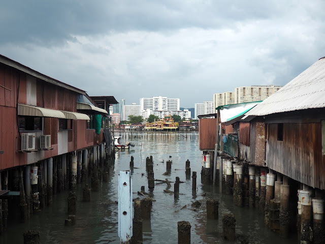 Chinese clan jetties, Georgetown, Penang, Malaysia
