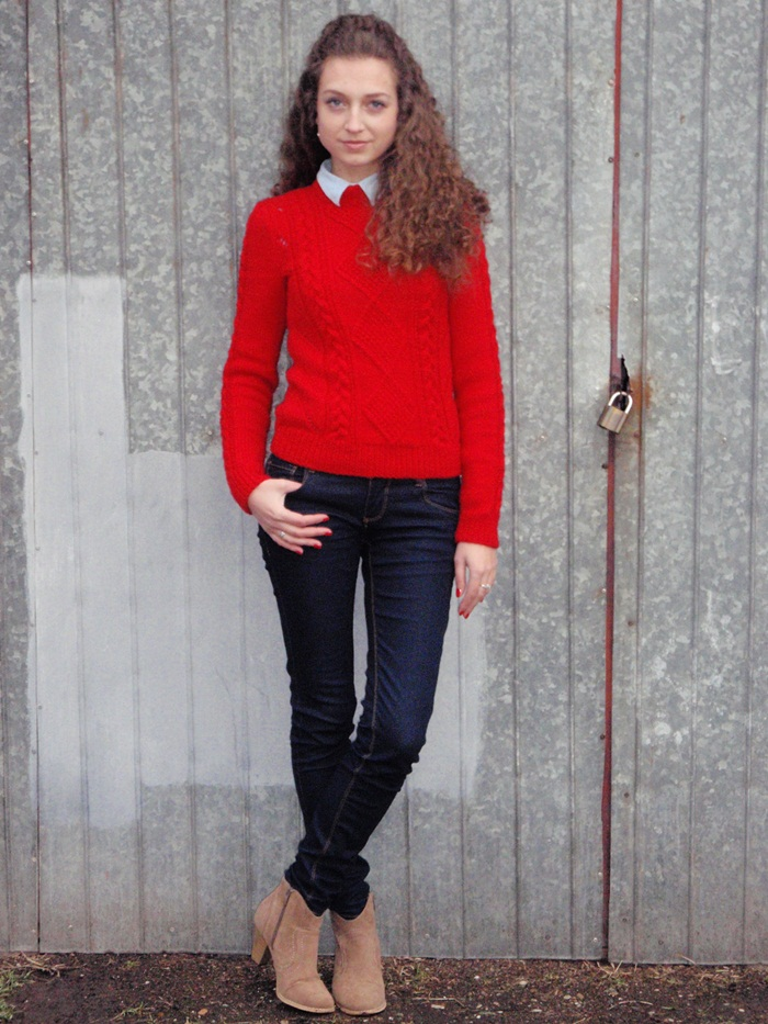 Love Style Magic: Red sweater