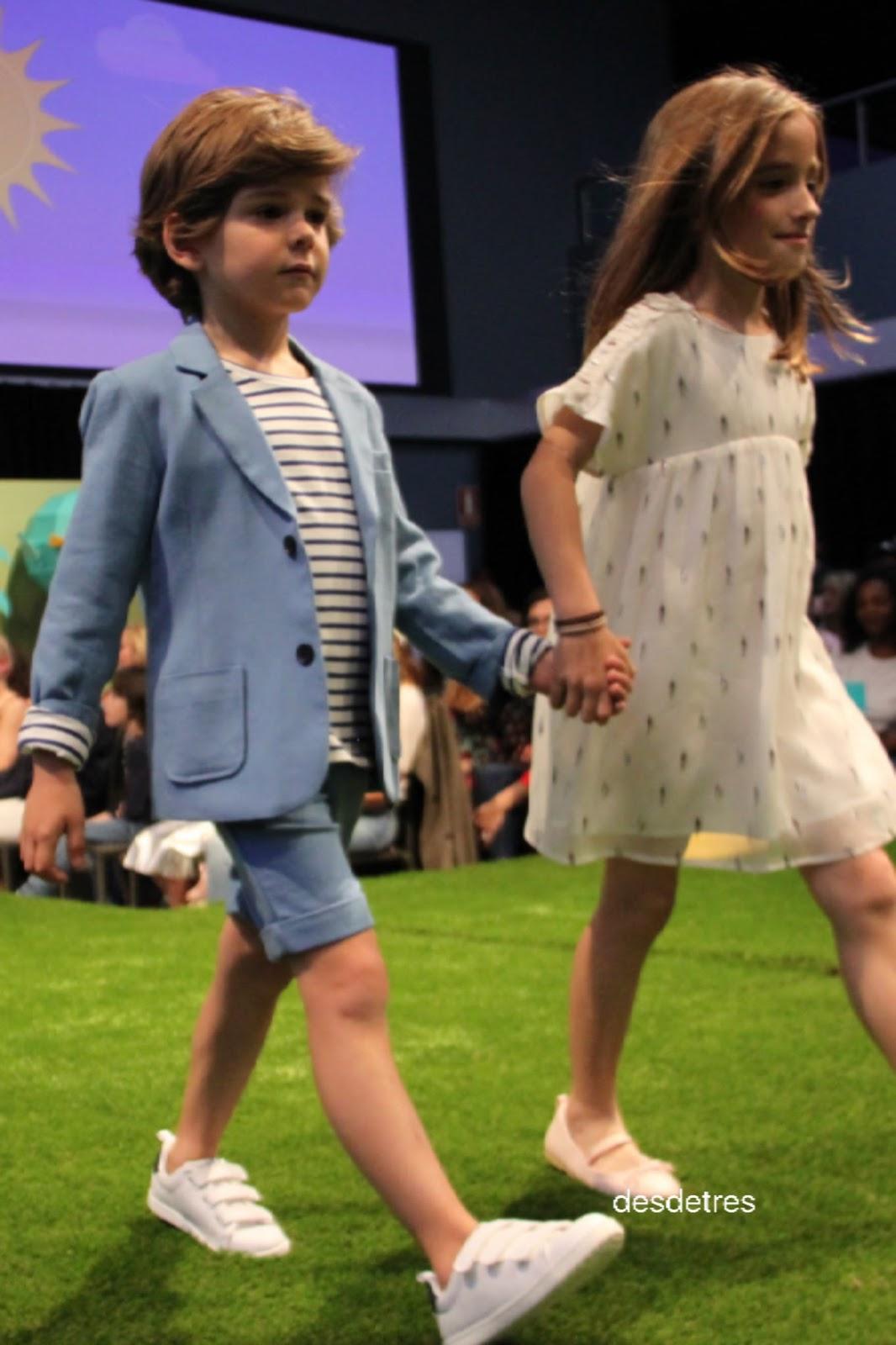24be6e303 La moda de los niños para el verano 18. Petit style walking.