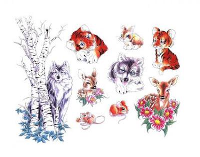 paginas de tatuajes de animales