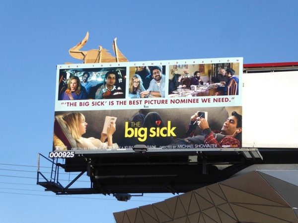 Big Sick movie For your consideration billboard