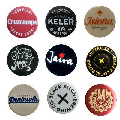 Coleccionismo cervecero Tapones corona de cerveza del 2017 XIII