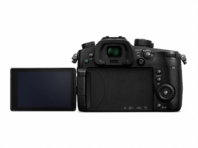 Panasonic GH5 Rear Screen and Dials Buttons
