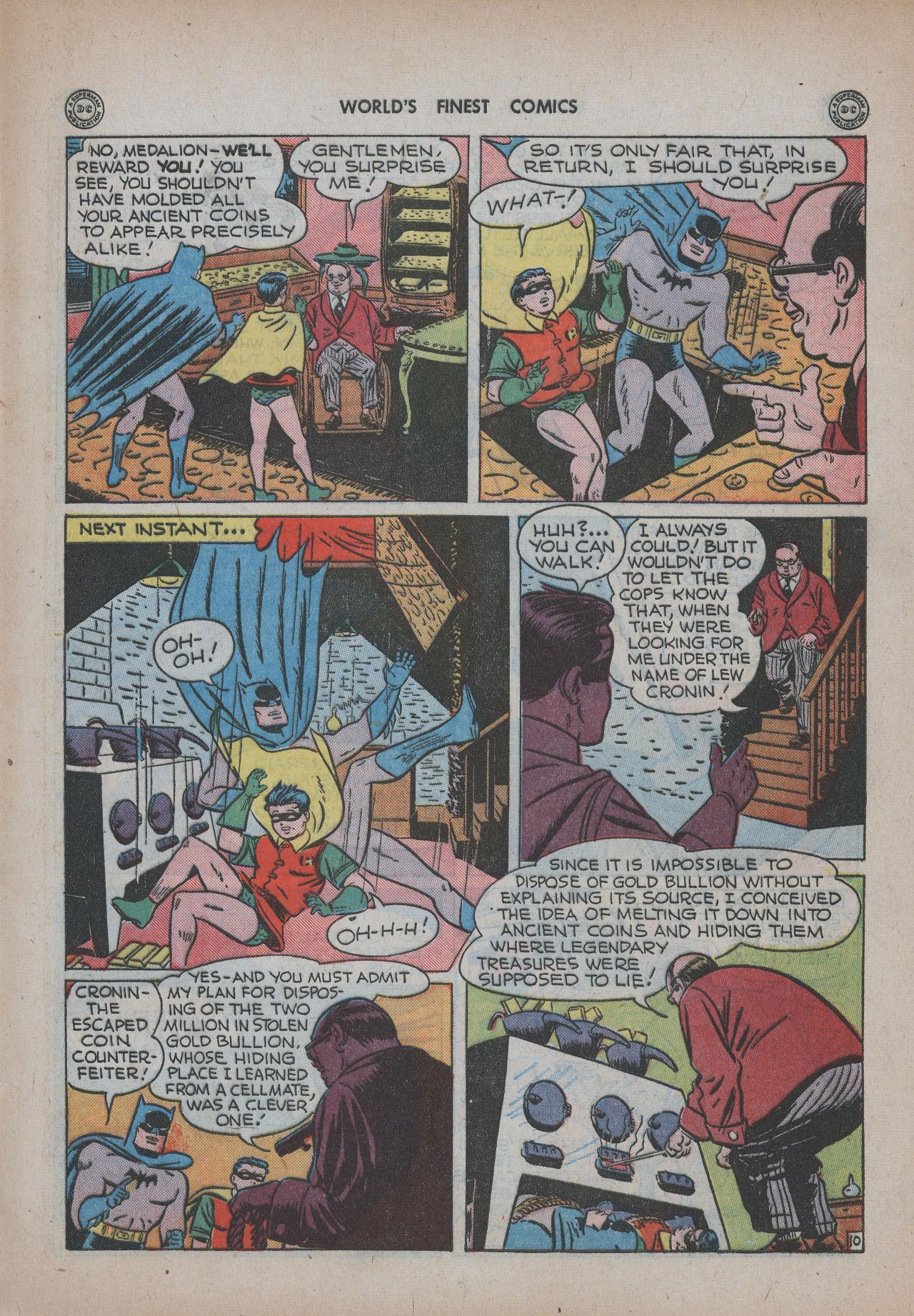 Read online World's Finest Comics comic -  Issue #20 - 71