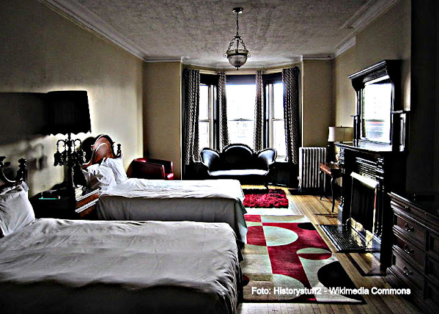 Quarto do Chelsea Hotel, Nova York