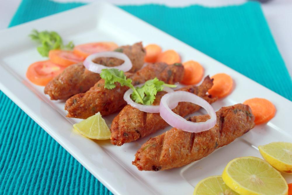 Rinkus Kitchen Treats Chicken Seekh Kebab Murg Seekh Kebab