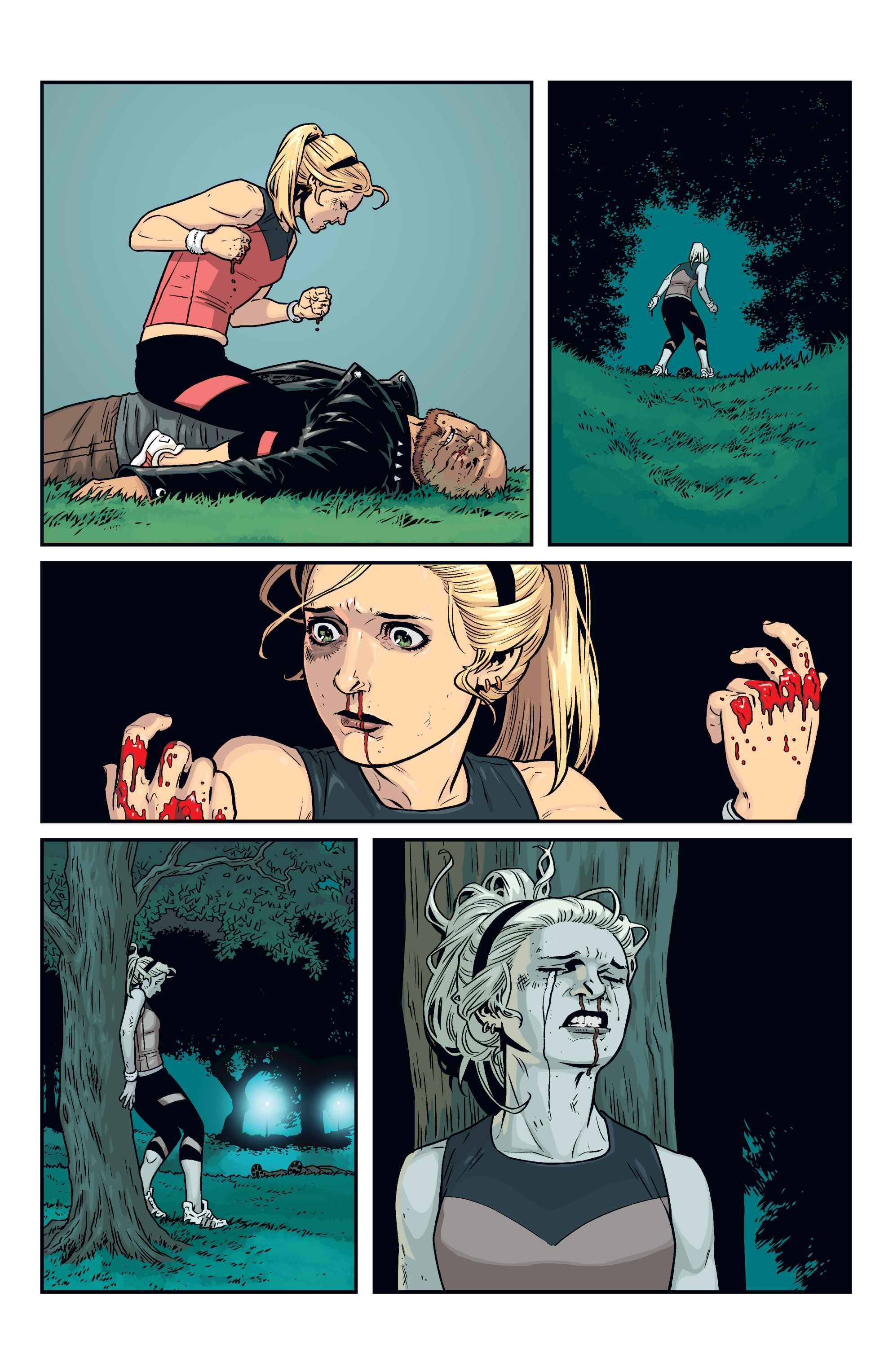 Read online Buffy the Vampire Slayer Season 11 comic -  Issue #8 - 12