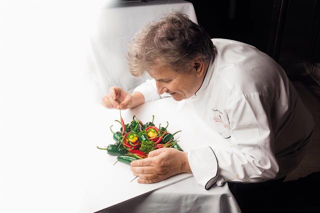 Holland America Cruise Line Master Chef Rudi Sodamin