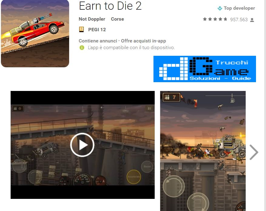 Trucchi Earn to Die 2 Mod Apk Android v1.9