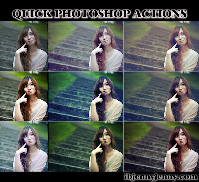 FREE QUICK PHOTOSHOP ACTIONS