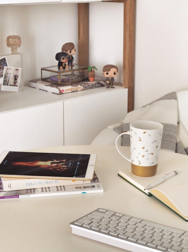 Rendre ses heures de travail plus hyggelig - slow living - blog lifestyle Louise Grenadine
