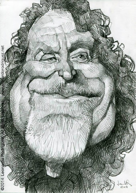 caricatures in spain Robert Plant