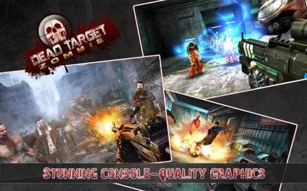 Download Dead Target Zombie Mod Apk Unlimited Money Game