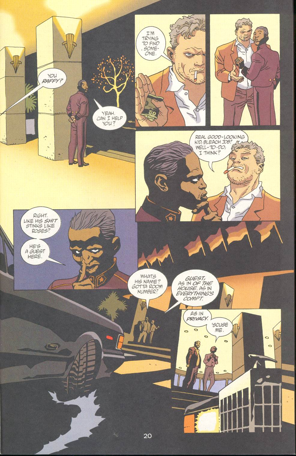 Read online 100 Bullets comic -  Issue #23 - 22