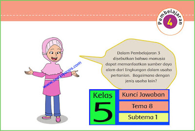 kunci-jawaban-buku-tematik-kelas-5-tema-8-subtema-1-pembelajaran-4