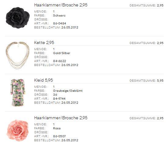 H&M Bestellung In Bearbeitung