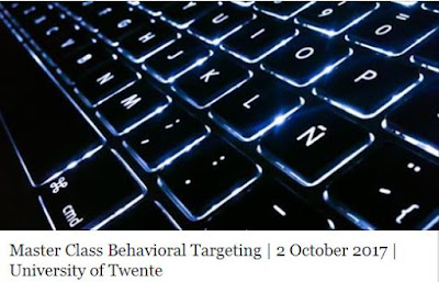 Master Class Behavioral Targeting in the University of Twente II