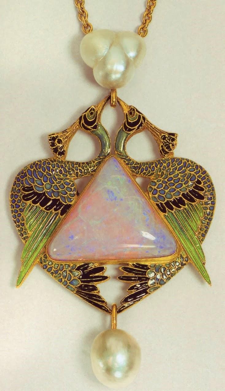 Art Nouveau Artists Lalique Jewelry Pendants Blog Of