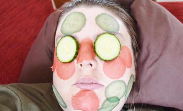 Kocostar slice mask sheets on face