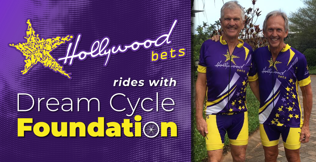 Hollywoodbets rides with Dream Cycle Foundation