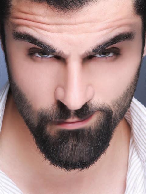 Nice Men with Good Beard Like an hollywood star with nice eyes