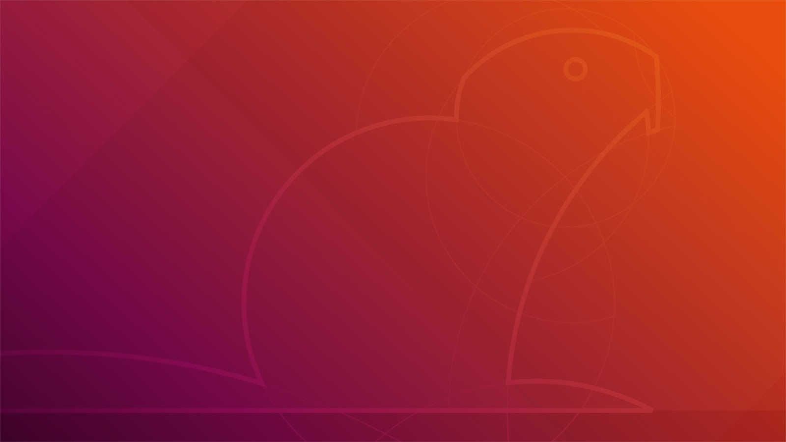 Wallpaper padrão do Ubuntu 18.04 LTS (Bionic Beaver)