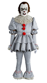 Stephen King It Pennywise, Halloween Costume, Pennywise 2017 costume, horror movie character costume, Stephen King Store