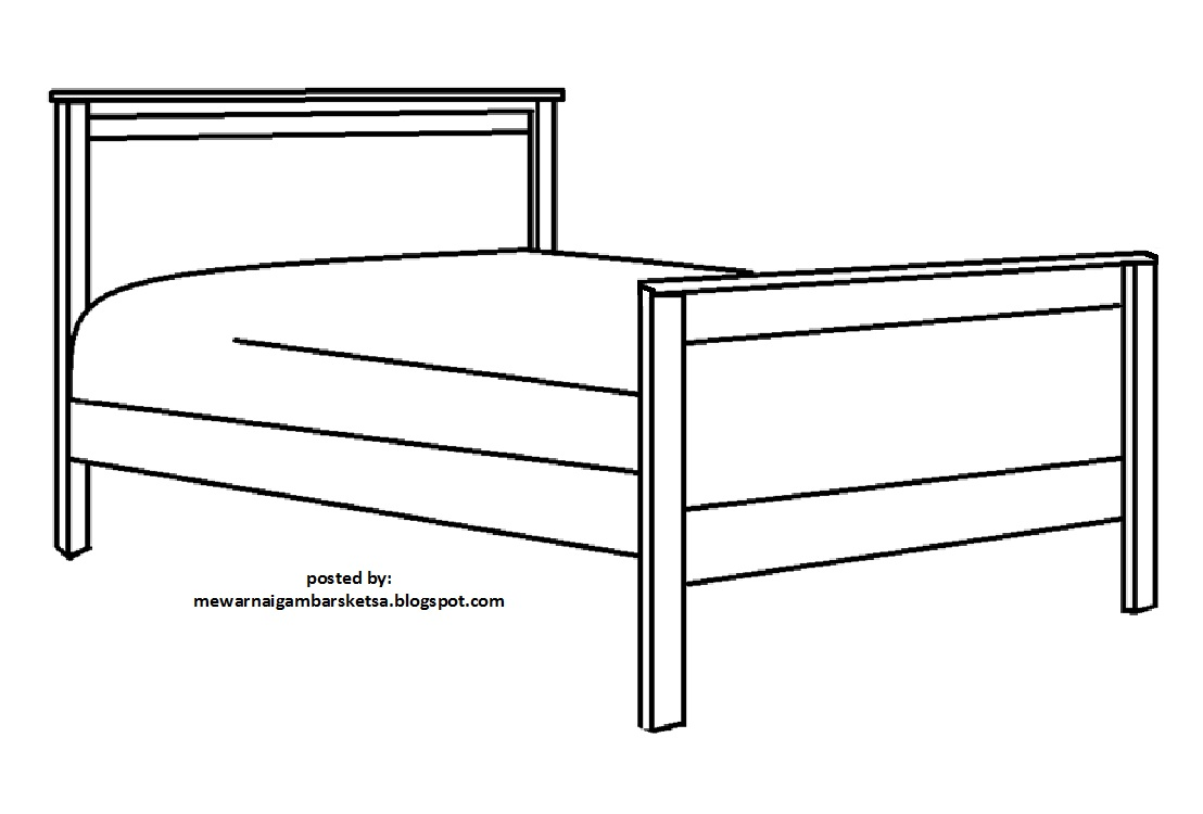 29 Baru Sketsa Tempat Tidur Design Info The Web