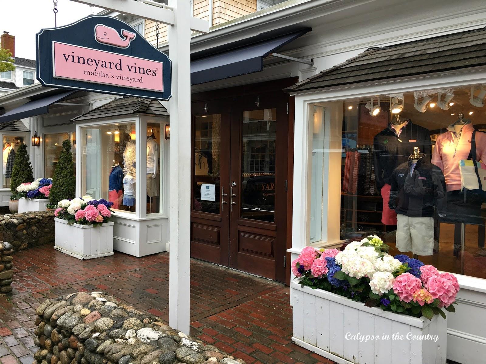 Vineyard Vines store in Edgartown