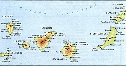 Espa a comunidades aut nomas islas canarias - Hotel 7 islas en madrid ...