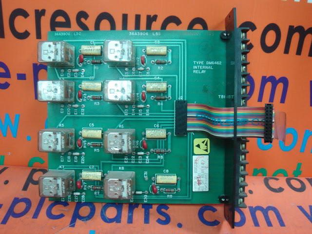 FISHER ROSEMOUNT CONTROLS DM6462 DISCRETE OUTPUT BOARD DM6462X1-B1  35A5316X012 C