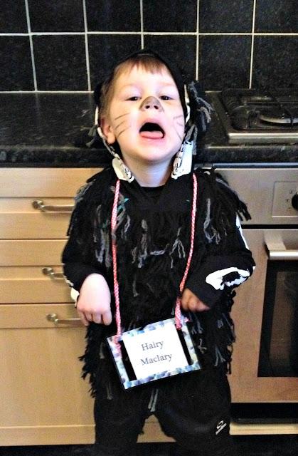 Hairy McClary Costume