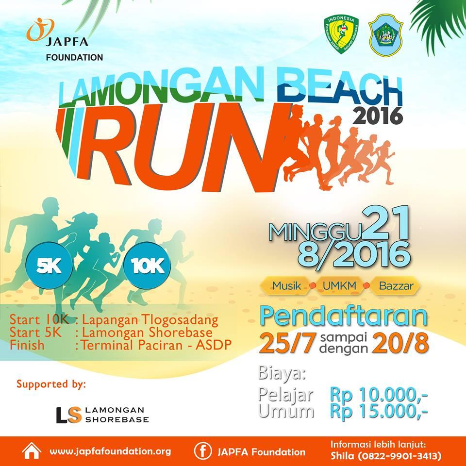 Lamongan Beach Run