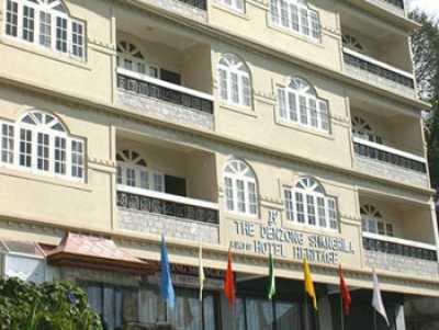 Denzong Shangrila Gangtok provides a contended accommodation within its sprawling premises.