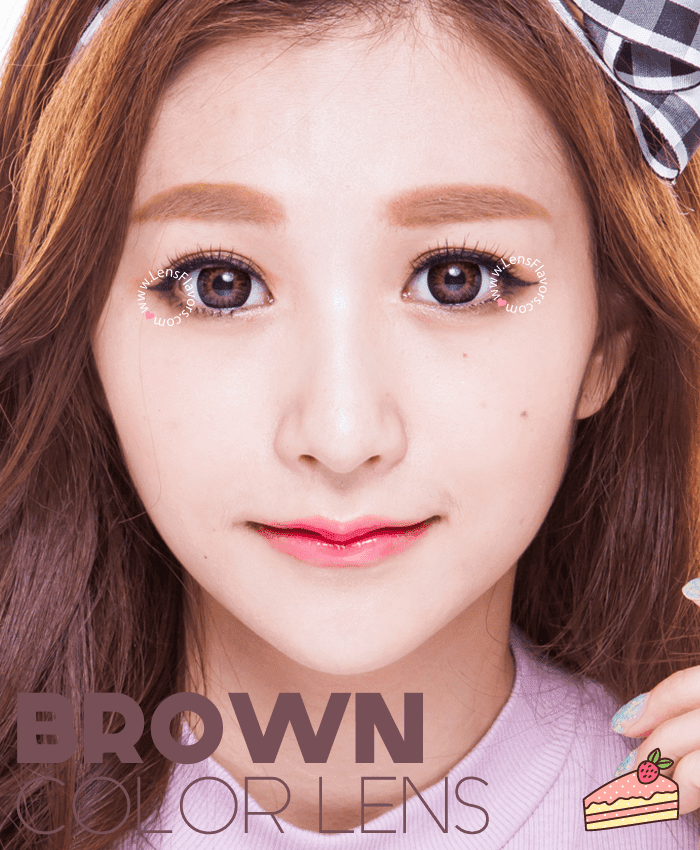 geo princess mimi chocolate brown colored contacts