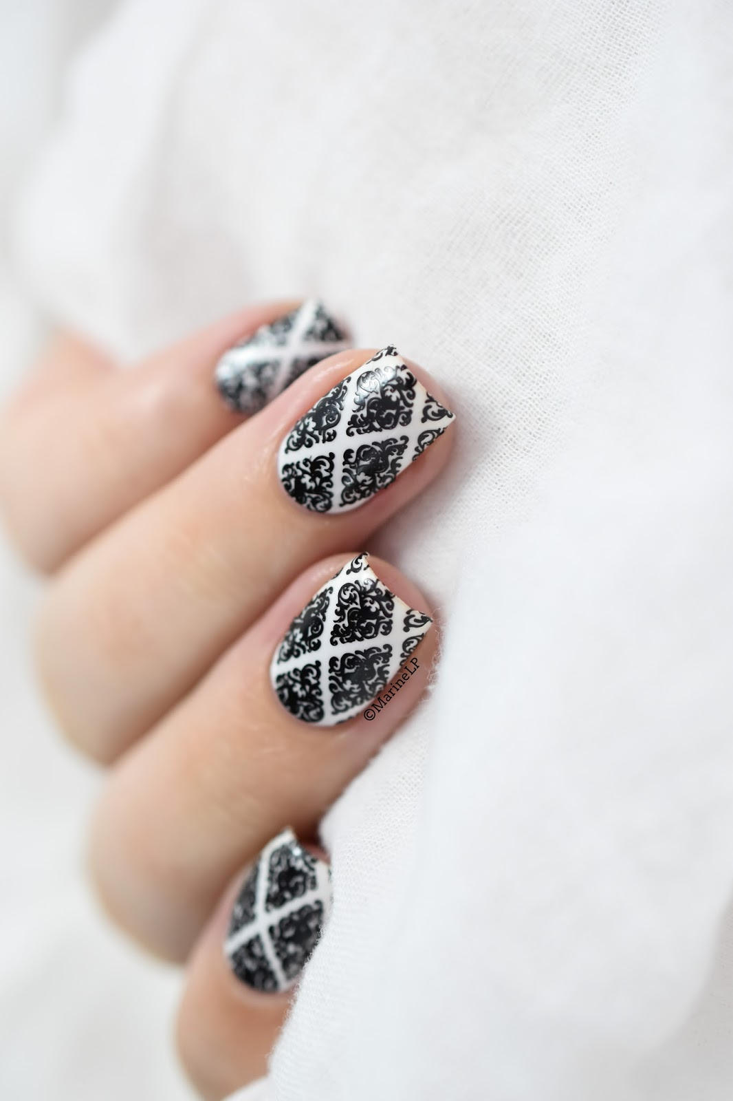 Bw Baroque Nails Marine Loves Polish And More Blog Beaut Et