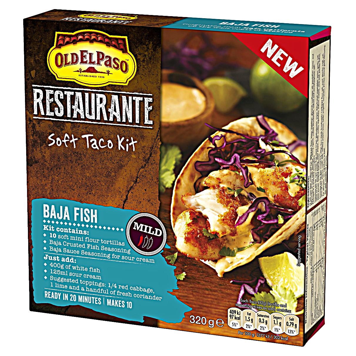 Chez Maximka Baja Fish Soft Taco Kit From Old El Paso