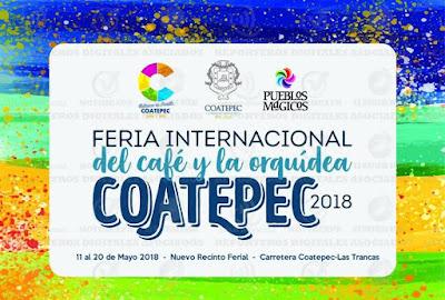 feria del café Coatepec 2018