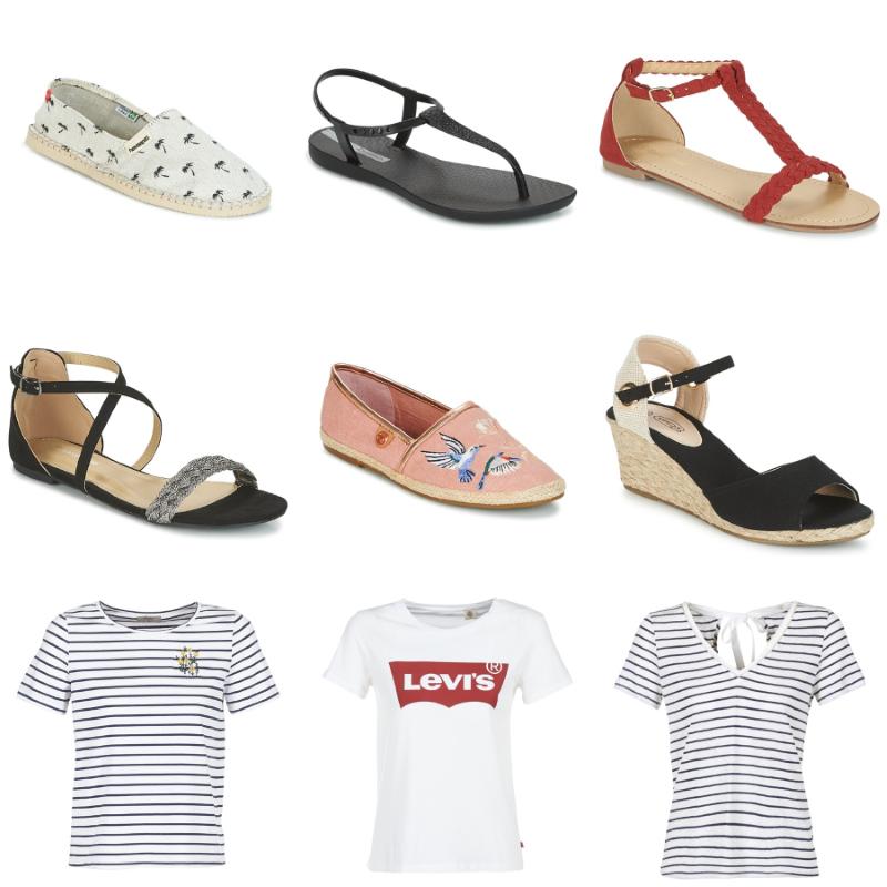 chaussures à petits prix chez spartoo pour l'été