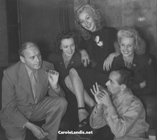 Carole Landis Jack Benny