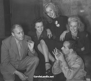 Carole Landis Jack Benny Martha Tilton