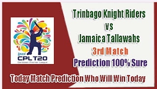 WHO WILL WIN TODAY CPL T20 MATCH FREE