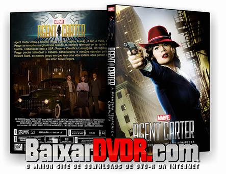 Marvel's Agent Carter – 1ª Temporada Completa (2015) DVD-R Autorado