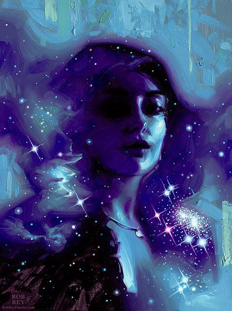 Stardust VI Study by Rob Rey - robreyfineart.com