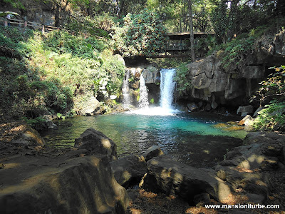 Uruapan National Park in Michoacán