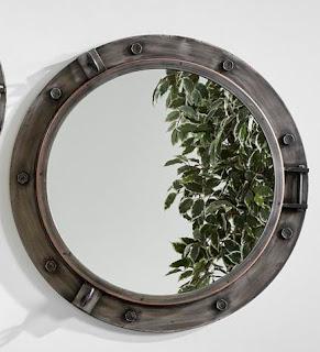 Espejo Ojo de Buey Bronce 75 D Crosont