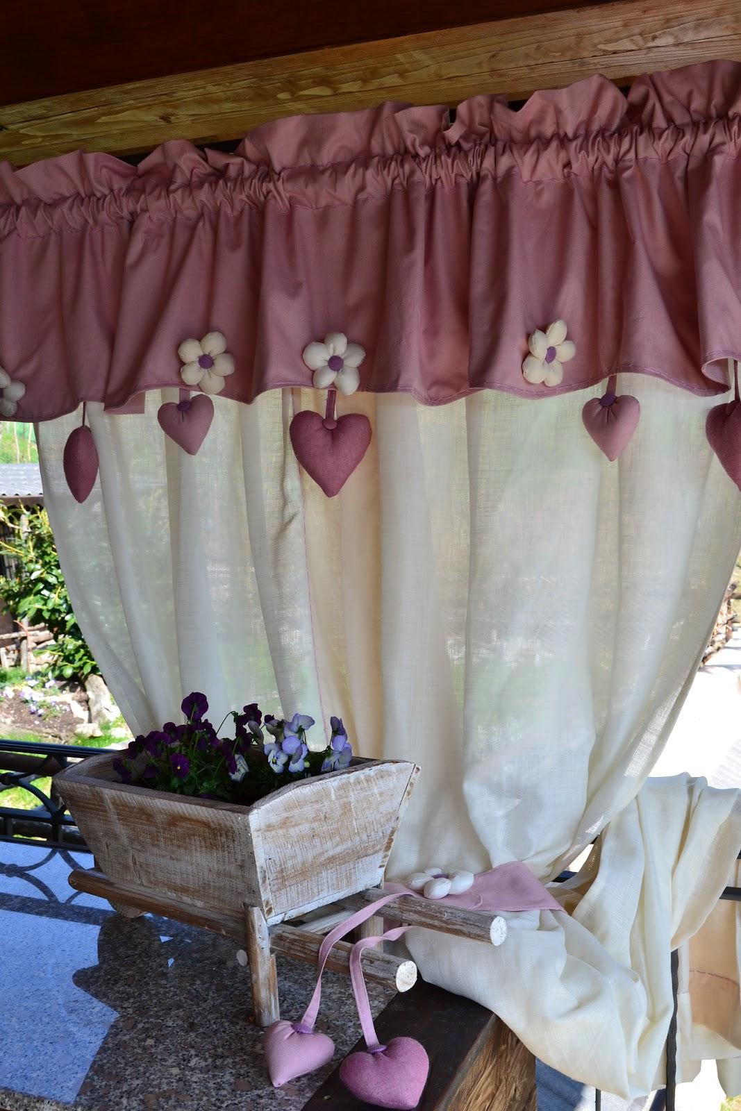 Tende Da Cucina Provenzali | Tenda Shabby Tende Pinterest Tenda ...