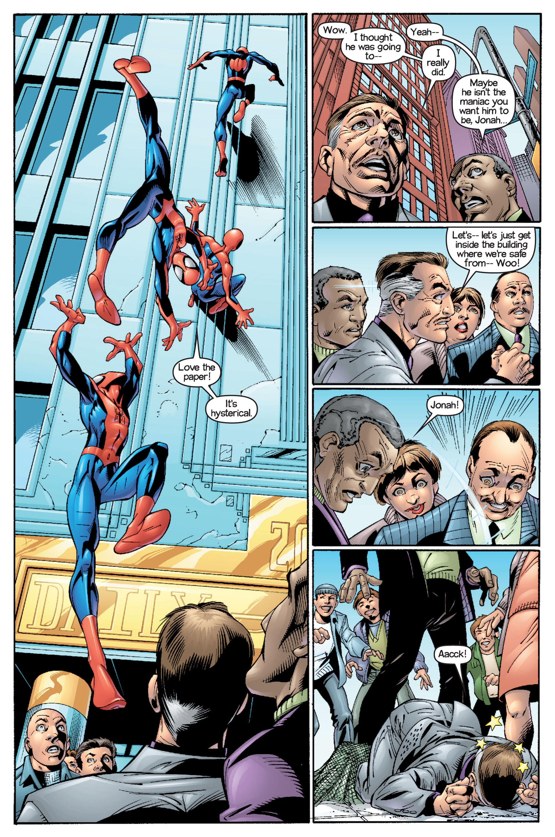 Read online Ultimate Spider-Man (2000) comic -  Issue #15 - 19