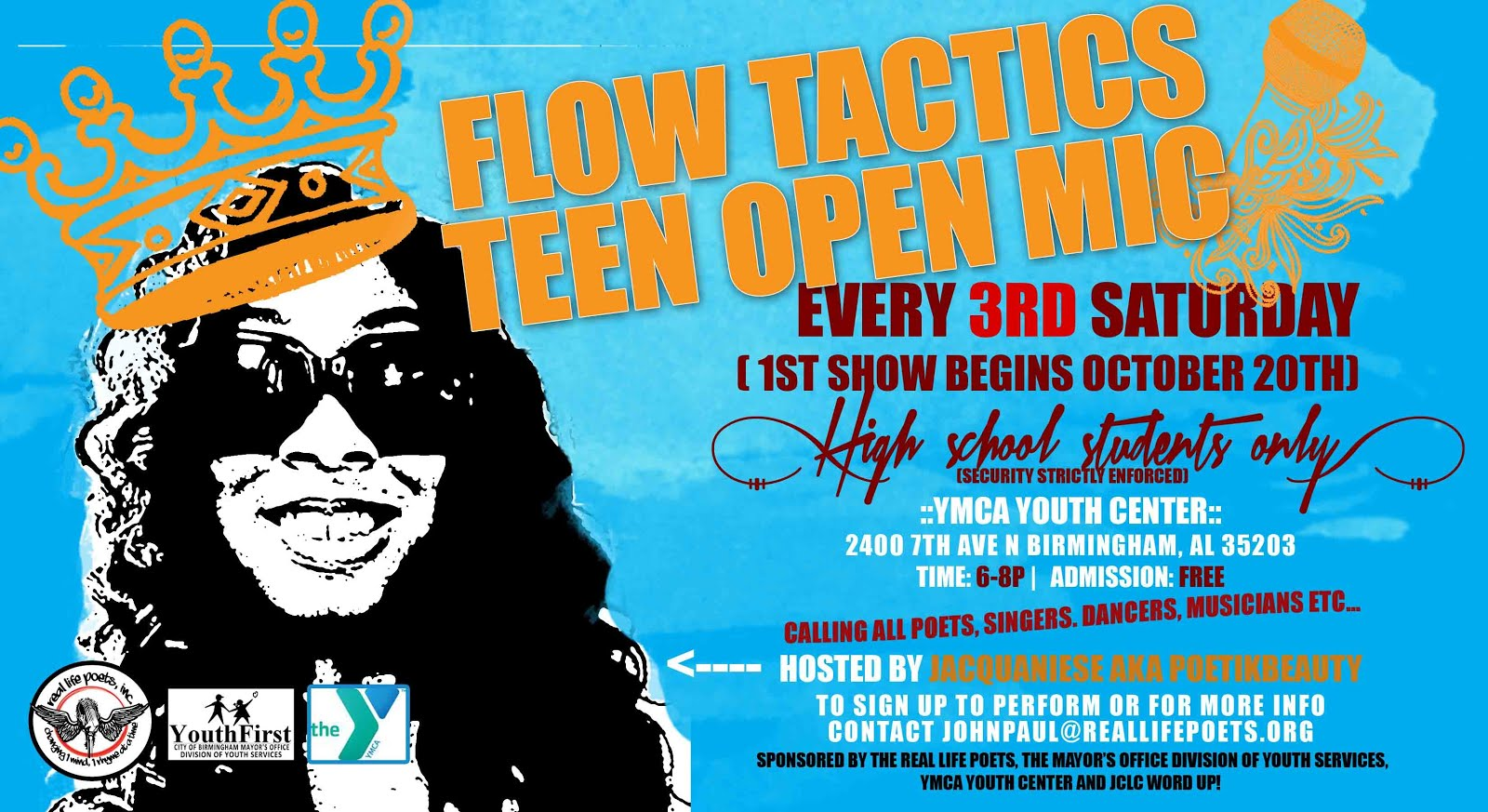 flow tactics flyer